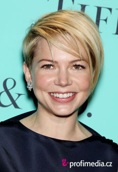 Účesy celebrít - Michelle Williams