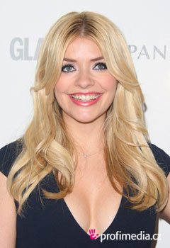 Účesy celebrit - Holly Willoughby