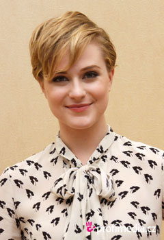 Promi-Frisuren - Evan Rachel Wood