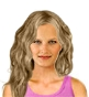 Hairstyle [2036] - everyday woman, long hair wavy