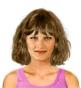 Hairstyle [8599] - everyday woman, medium hair straight