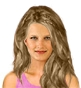 Hairstyle [2482] - everyday woman, long hair wavy