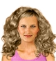 Hairstyle [2253] - everyday woman, medium hair curly