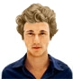 Hairstyle [8465] - man hairstyle, medium hair curly