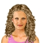 Hairstyle [2037] - everyday woman, long hair curly