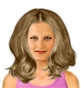 Hairstyle [8698] - everyday woman, long hair straight