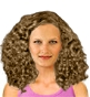 Hairstyle [2483] - everyday woman, long hair curly