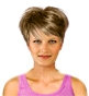 Hairstyle [2353] - everyday woman, short hair straight