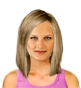 Hairstyle [2038] - everyday woman, medium hair straight
