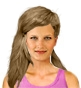 Hairstyle [8630] - everyday woman, long hair straight