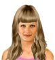 Hairstyle [8472] - everyday woman, long hair straight