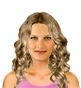 Hairstyle [418] - everyday woman, medium hair curly
