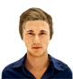 Hairstyle [7787] - man hairstyle, short hair straight