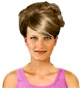 Hairstyle [5996] - party and glamorous
