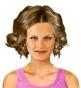 Hairstyle [8585] - everyday woman, medium hair straight