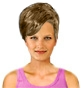 Hairstyle [2473] - everyday woman, short hair straight