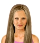Hairstyle [2334] - everyday woman, long hair straight