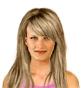 Hairstyle [2289] - everyday woman, medium hair straight