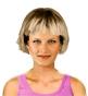 Hairstyle [8643] - everyday woman, medium hair straight
