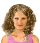 Hairstyle [205] - everyday woman, medium hair curly