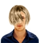 Hairstyle [221] - man hairstyle, long hair straight