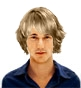 Hairstyle [229] - man hairstyle, long hair straight