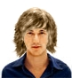 Hairstyle [230] - man hairstyle, long hair curly