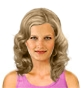 Hairstyle [2074] - everyday woman, medium hair wavy