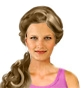 Hairstyle [7725] - party and glamorous
