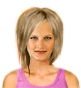 Hairstyle [2474] - everyday woman, medium hair straight