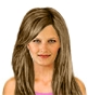Hairstyle [2336] - everyday woman, long hair straight