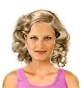 Hairstyle [3661] - everyday woman, medium hair curly