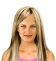 Hairstyle [2308] - everyday woman, medium hair straight
