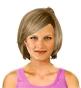 Hairstyle [8549] - everyday woman, medium hair straight
