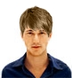 Hairstyle [6734] - man hairstyle, medium hair straight
