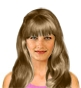 Hairstyle [5845] - everyday woman, long hair wavy