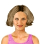 Hairstyle [8452] - everyday woman, medium hair straight