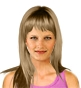 Hairstyle [8551] - everyday woman, long hair straight