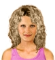 Hairstyle [1676] - everyday woman, medium hair curly
