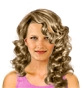 Hairstyle [1721] - everyday woman, long hair curly