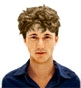 Hairstyle [8618] - man hairstyle, medium hair curly
