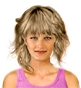 Hairstyle [2452] - everyday woman, medium hair wavy