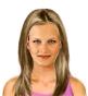 Hairstyle [2292] - everyday woman, medium hair straight