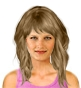 Hairstyle [8553] - everyday woman, long hair straight