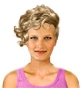 Hairstyle [1677] - everyday woman, short hair wavy