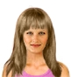 Hairstyle [2477] - everyday woman, medium hair straight