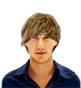 Hairstyle [6811] - man hairstyle, medium hair straight