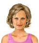 Hairstyle [3658] - everyday woman, medium hair wavy