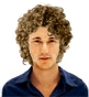 Hairstyle [8420] - man hairstyle, long hair curly
