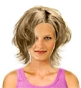 Hairstyle [3817] - everyday woman, medium hair straight